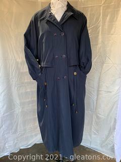 Sheared Beaver Rain Coat