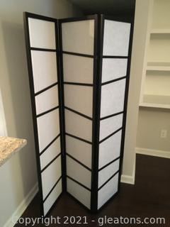 Evernote Trifold room divider
