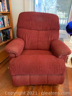 Rolled Arm Recliner