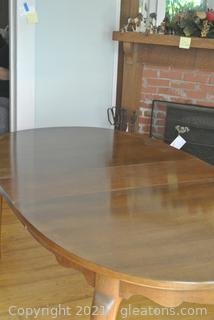 "Thomasville ""Rural English"" Oval Dining Table"