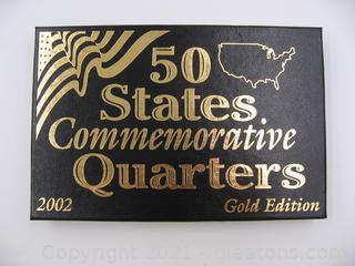 2002 Commemorative Quarters Gold Edition