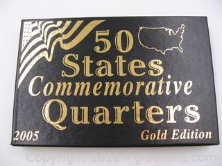 2005 Commemorative Quarters Gold Edition