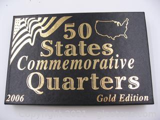 2006 Commemorative Quarters Gold Edition