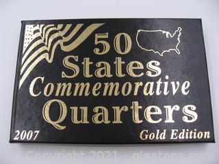 2007 Commemorative Quarters Gold Edition
