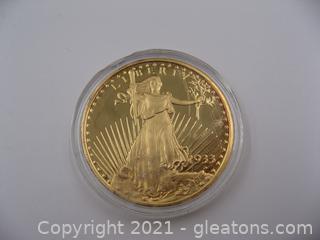 1933 Liberty/Eagle Twenty Dollar Coin Copy- Lot 1