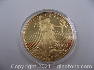 1933 Liberty/Eagle Twenty Dollar Coin Copy- Lot 2