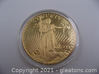 1933 Liberty/Eagle Twenty Dollar Coin Copy ,Lot 3