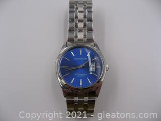 Stainless Steel Kingnuos Men's Watch
