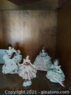 Victorian Style Figurines