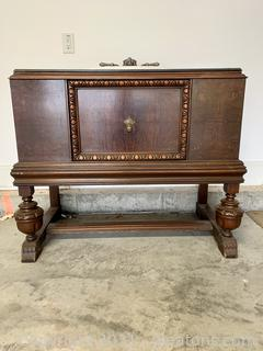 Antique Sideboard Vanity with Sink