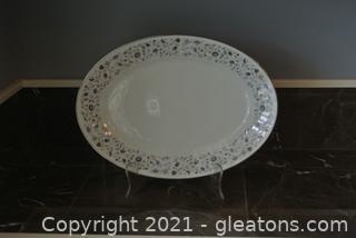 "Noritake ""Floris"" 14"" Oval Platter"