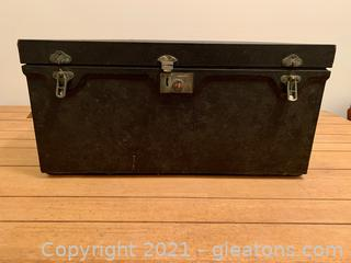 1900's A and F Co. Travel Picnic Chest (in the basement)
