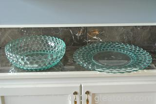 Set of Beautiful Glass Statement Pieces (Lot of 2)