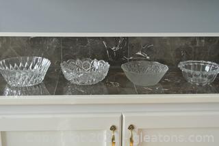 Cut Glass Bowls (Lot of 4)