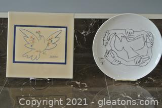Picasso Decor (Lot of 2)