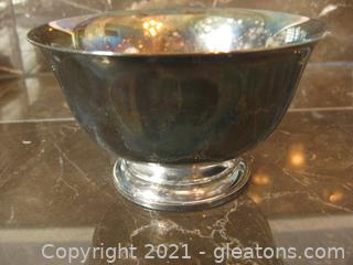 Vintage National Silver Co. Silverplate Sugar Dish (picture makes this look bigger than it is)