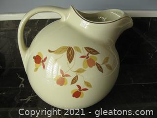 Vintage Pitcher by Hall's Quality Kitchenware