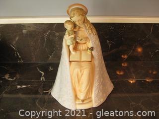 Vintage Hummel Figurine 70/7 Madonna and Child (Baby Jesus)