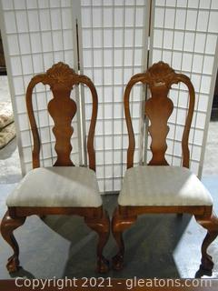 Set of 2 Side Dining Chairs B