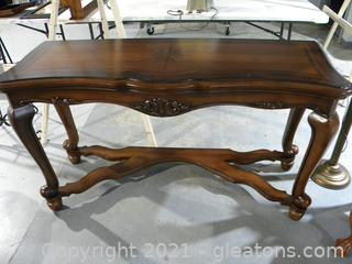 Sofa Table with Inlay
