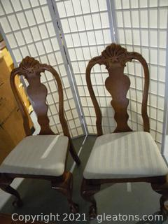 Set of 2 Side Dining Chairs A