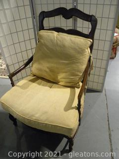 Cushioned Arm Chair