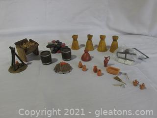 Lot of Nativity Accessories