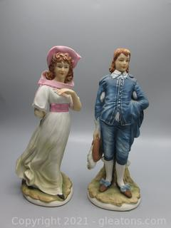 Lefton Old Master Series - Pinky and Blue Boy