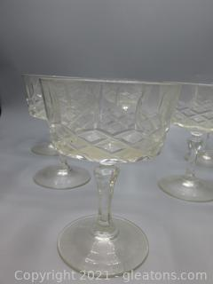 Crystal Parfait Glasses