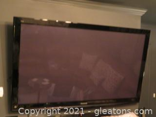 "Huge Panasonic Viera 65"" Flatscreen TV"