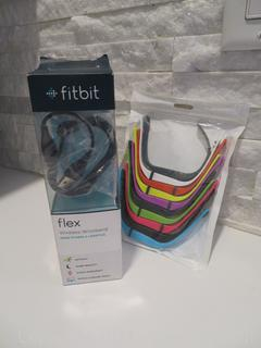 New in Box Fitbit Flex Plus 10 Pack Multicolored Wristbands