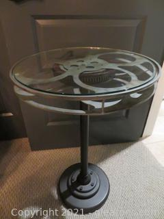 Delightful Movie Reel Table