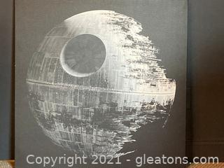Pottery Barn Kids  Death Star Large Wall Art