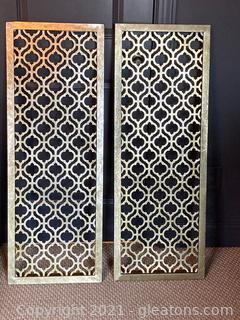 Metal Wall art- Lot of 2