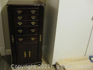 Mahogany Jewelry Armoire by Powell Incorporated