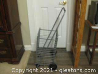Personal Rolling Shopping Cart A