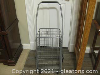 Personal Rolling Shopping Cart B