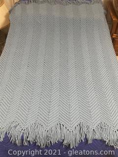 Homemade, Crocheted Afghan