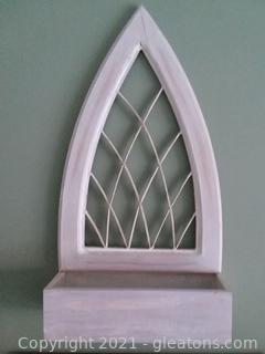 Cathedral Window Planter