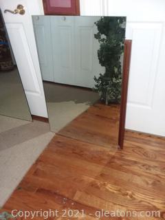Unframed Wall Mirror