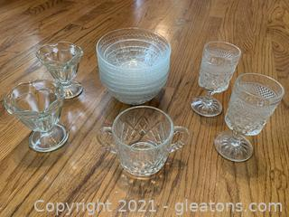 Vintage Glass Variety Lot
