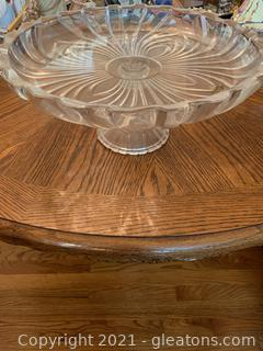 Studio Pedestal Cake Stand and Crudite Plate (Only one in first picture)