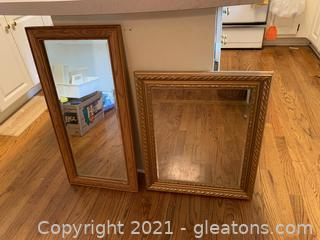Mirror Lot (Lot of 2)