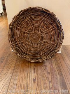 Basket Wall Decor