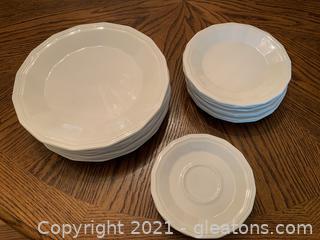 Homer Laughlin White Dishware (Lot of 18)