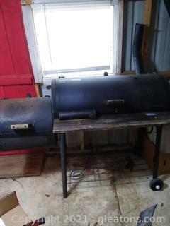 Brinkman Smoker Pit Charcoal Smoker