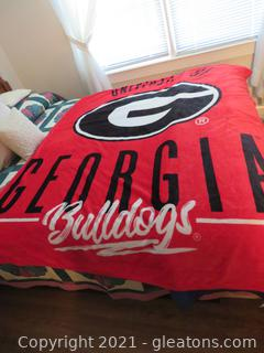 University of Georgia Throw/Blanket