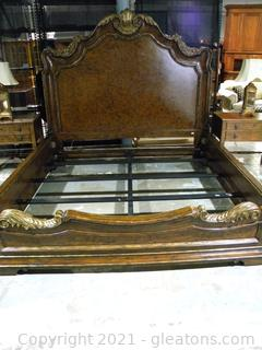Marge Carson King Sized French Inspired Bedframe