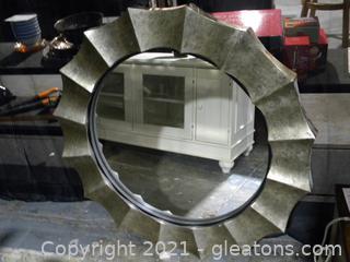Gotham Framed Mirror