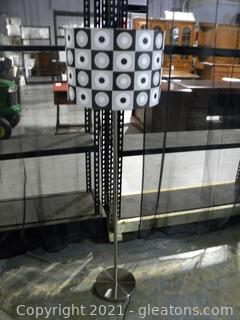 Polka Dotted Floor Lamp